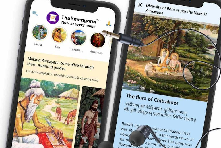 Bite-Sized Ramayana On Your Phone!