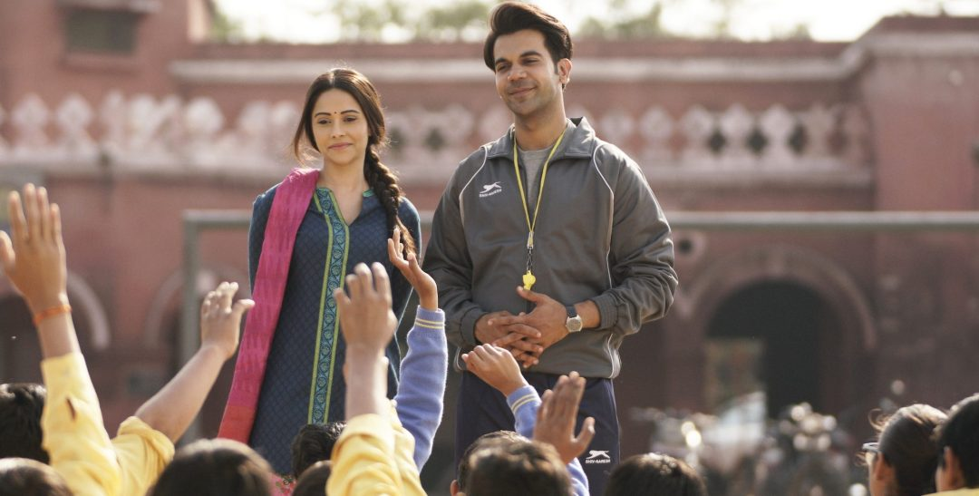 Nushrat Barucha and Rajkummar Rao in movie, Chhalaang.Chhalang Movie Still with Nushrat Barucha and Rajkummar Rao