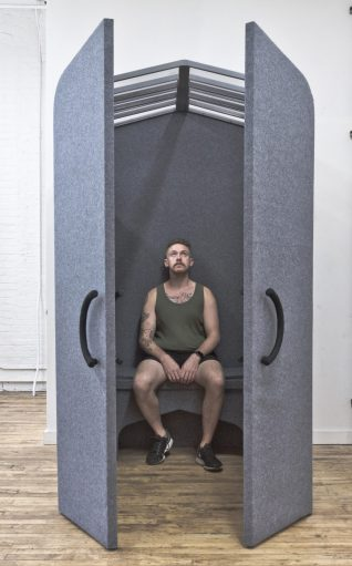 Mittal's Reboot, a collapsible PTSD chamber.