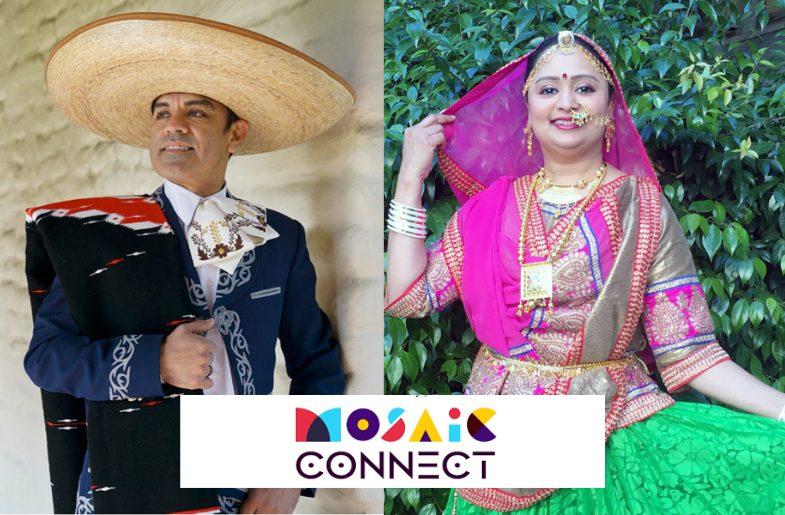 Dandiya Raas Meets Mexico's Folklorico