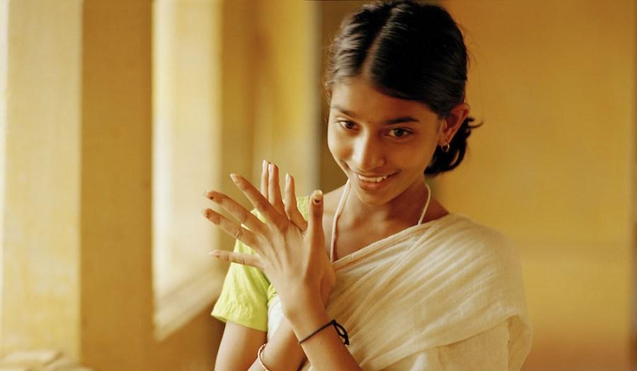 Film still from 'Vanaja'