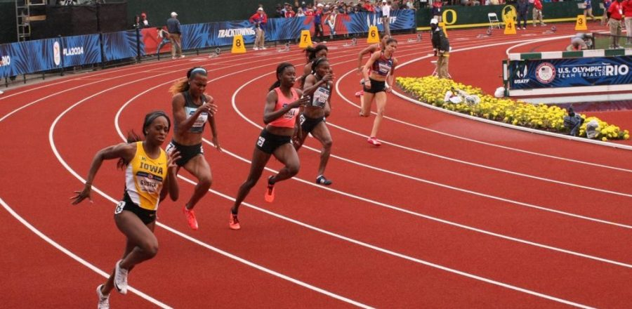 2016 US Olympics Track and Field Trials (Image from Wikimedia and under the Creative Commons License 2.0)