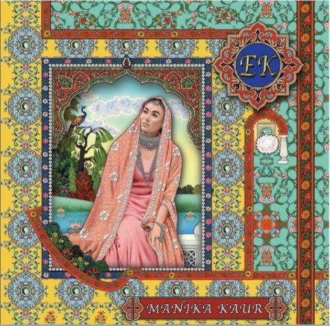 Manika Kaur's album cover for 'Ek'.
