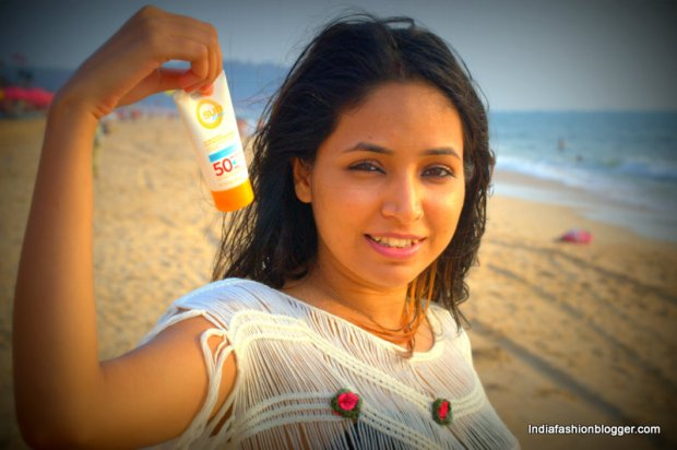 Sunscreen in Goa