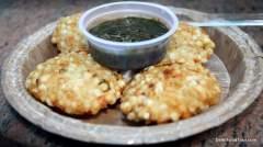 Indian street food, sabudana vada