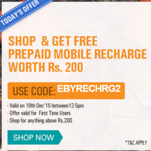 Ebay india coupons for new users