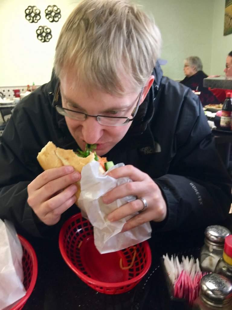 Bahn Mi Sandwich in AR