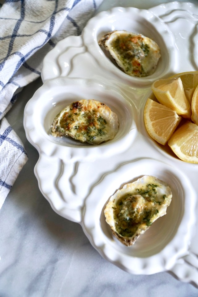 Broiled Oysters with Parmesan and Garlic 03