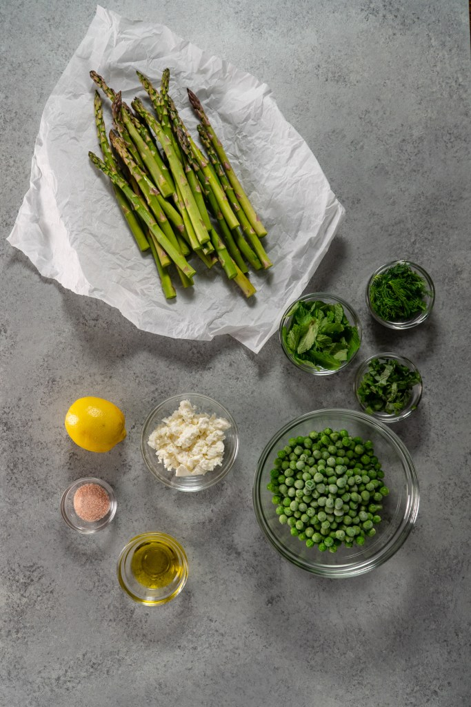 Asparagus and Peas