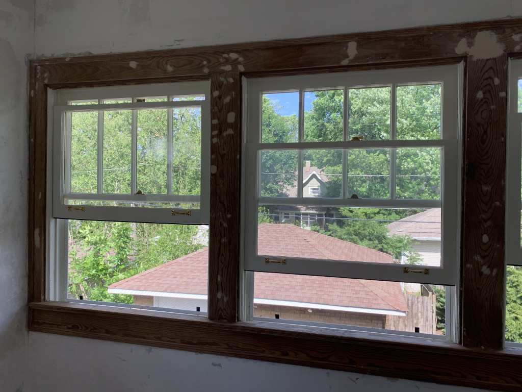 Restored Wood Sash Windows