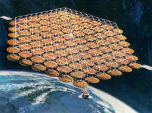 Space-based-solar-panel