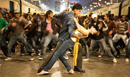 Celebrating the success of Slumdog Millionaire