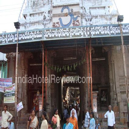 The Srikalahasti Temple of Lord Shiva
