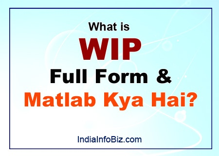 WIP Full Form & Meaning in Hindi