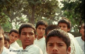 Gurukul students in Haryana (Northern India)