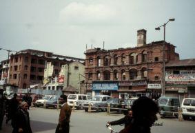 City centre of Srinagar (Jammu and Kashmir, India)