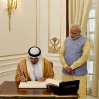 PM Welcomes UAE Crown Prince as Republic Day Chief Guest