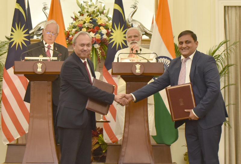 India Signs 7 MoUs, Malaysia PM Razak Meets PM, President