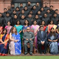 IFS Officer Trainees Call on President in Rashtrapati Bhavan