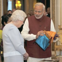 Queen Elizabeth Showed me Gandhiji's Gift - Khadi Handkerchief: Recollects Modi