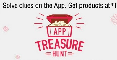 Amazon App Treasure Hunt 29th July Clue, Answers & Buy At Re 1 Home Products