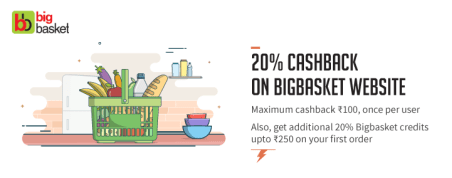Freecharge Bigbasket Offer