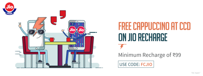 Freecharge Jio Offer