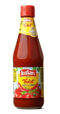 Kissan Twist Sweet and Spicy Sauce 500g At ₹ 87 - Amazon