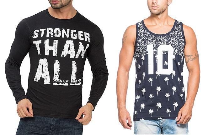 Alan Jones Men's Clothing Min 50% off from Rs 279 - Amazon