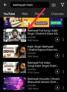 snaptube Video download karne ka