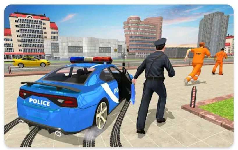 Drive Police car game