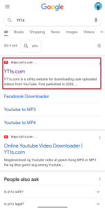 Google video download search