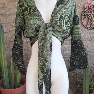 Blusa Algodón Verde