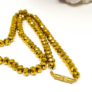 Collar Cristales Gold