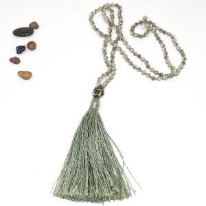 Collar Crystal Budha