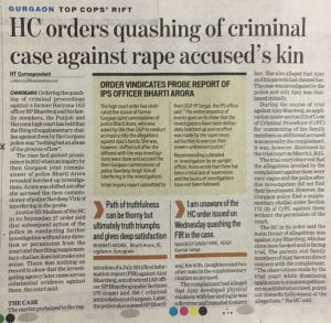 High Court Chandigarh Quashing of FIR