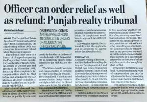 RERA Punjab Appellate Authority