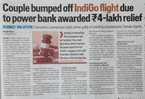 Consumer Complaint against Indigo Flight
