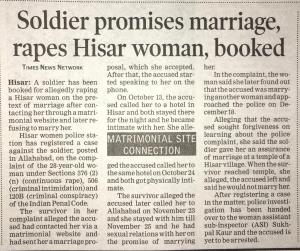 Promise to Marry Rape Cases Legal Advice