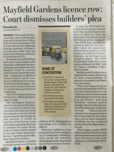 DTCP Notice Challenged in High Court Chandigarh