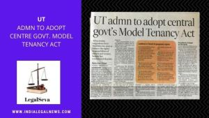 Chandigarh Model Tenancy Act