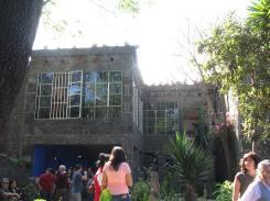 Frida Kahlo - external view of Studio