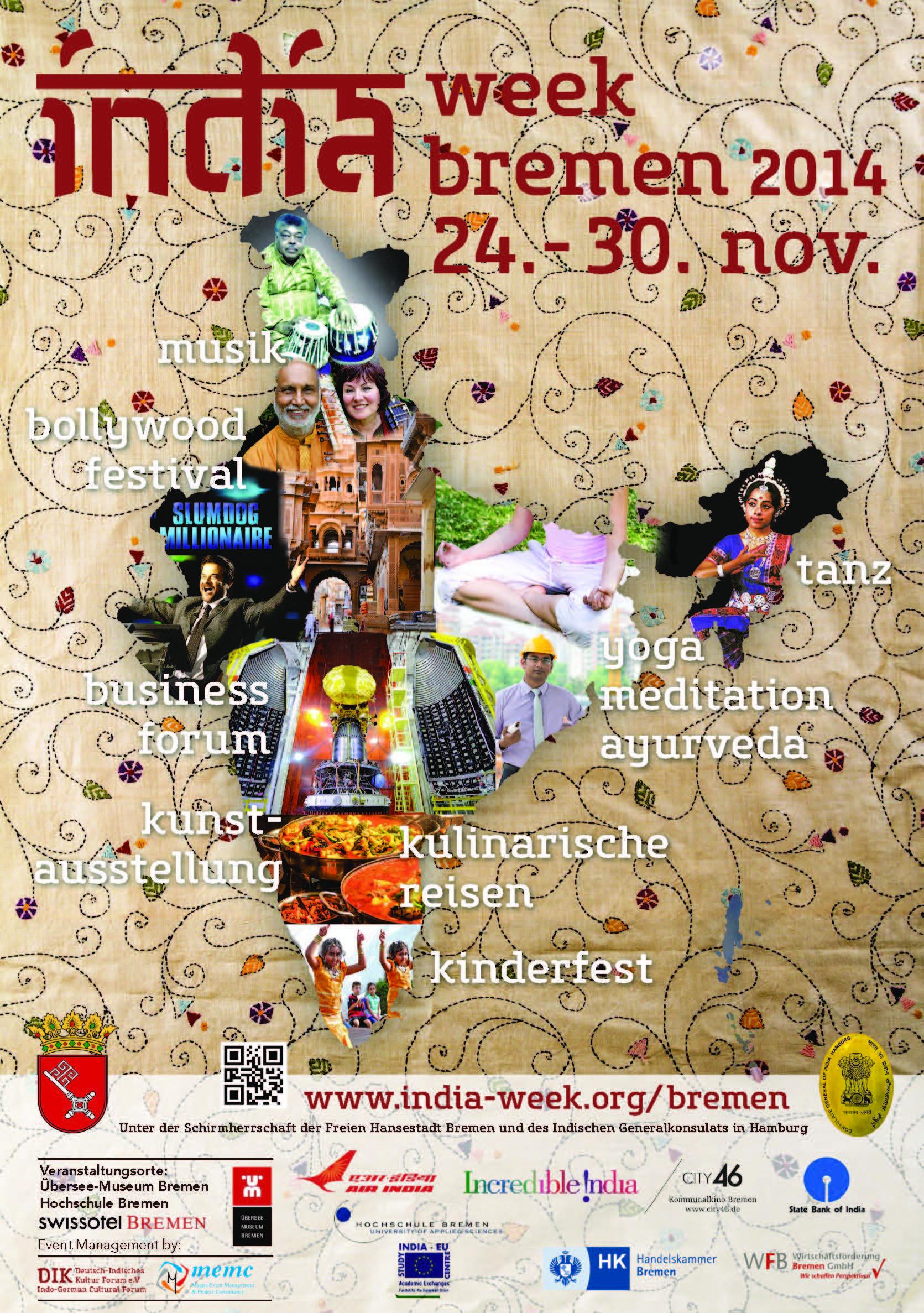 24.-30. November 2014, Indische Woche in Bremen Seite 1