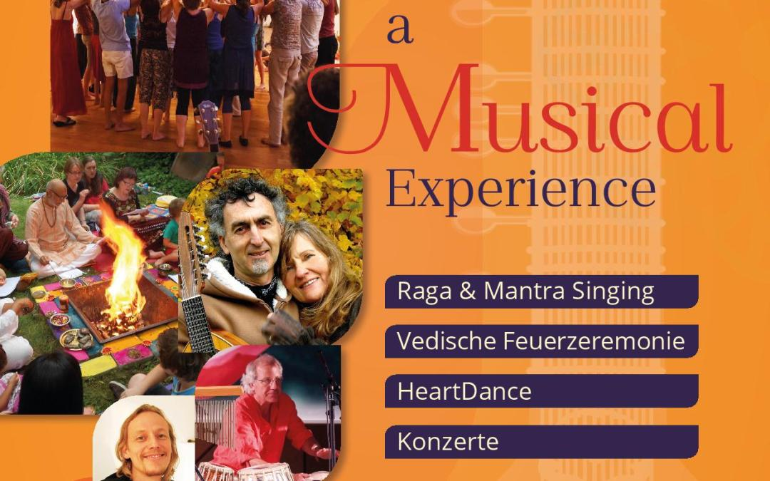 Indian- Sufi Fusion Concert, Heart Dance, Indian Fire Ceremony and workshop in Osho Parimal, Gut Hübenthal, Germany: 26-28.10.2018