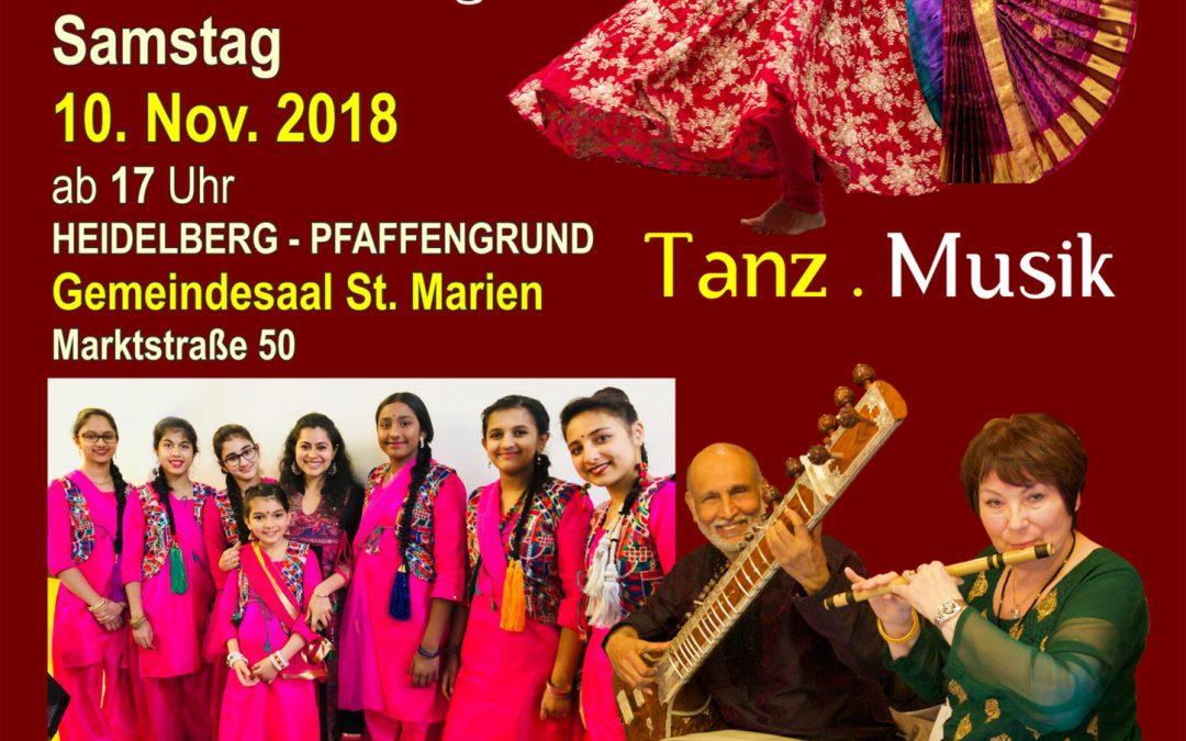Diwali Sitar Konzert, DIG Heidelberg, Samstag 10.Nov.2018