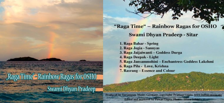 CD cover Rainbow Ragas for Osho