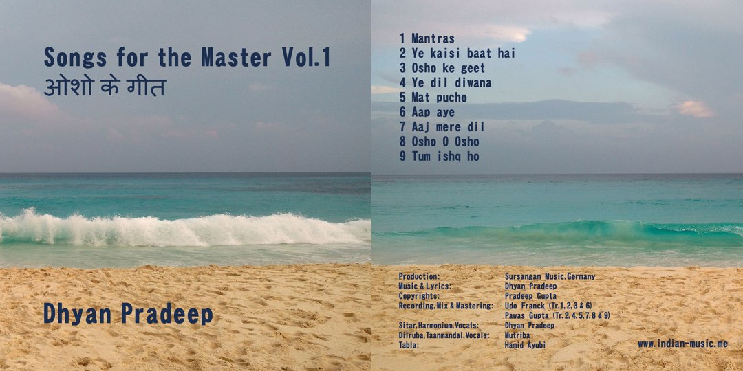 CD cover Songs for the Master Vol 1