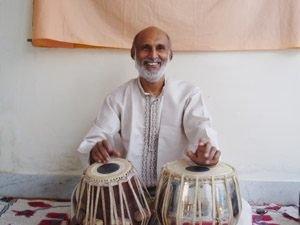 Pradeep plays Tabla