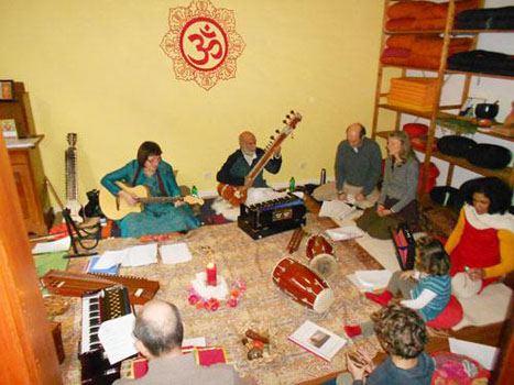Vocal soft indischer Musik Workshop
