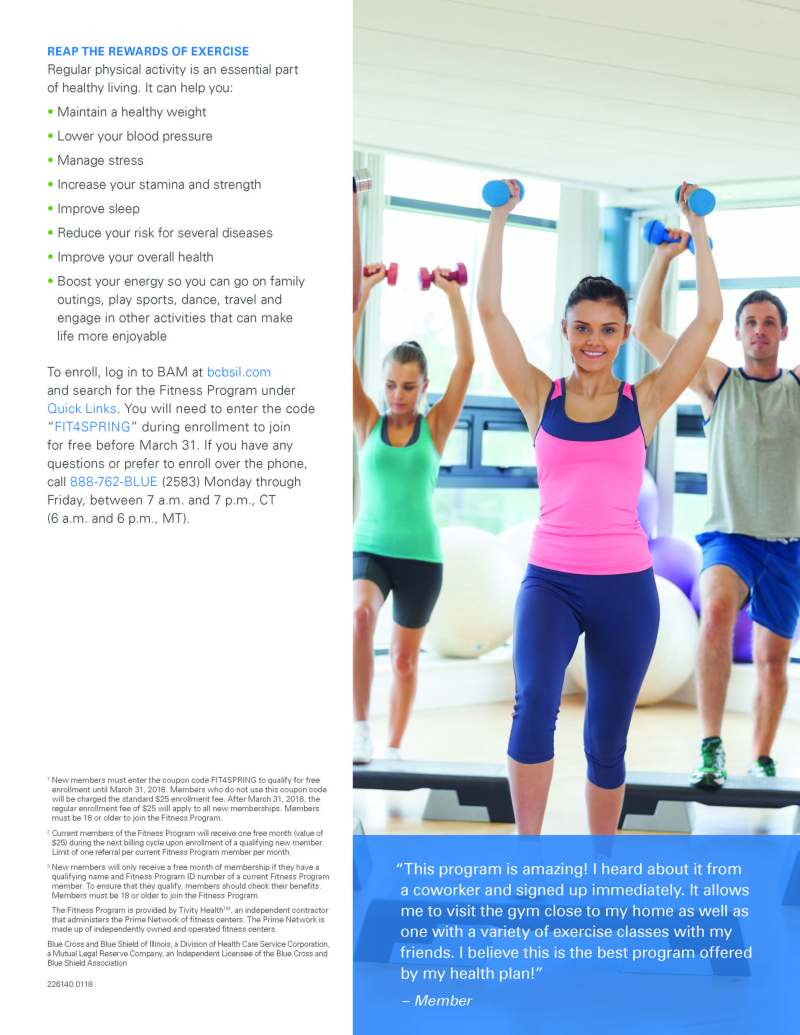 Bcbs Fitness Program Gyms   Kayafitness co